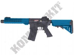 "ST-GBB12BBK M4 Delta 9"" Keymod Rifle Gas Blowback Airsoft BB Gun Black & 2 Tone"
